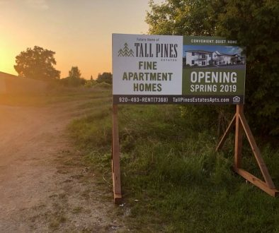 Construction of Tall Pines Estates Sturgeon Bay Apartments
