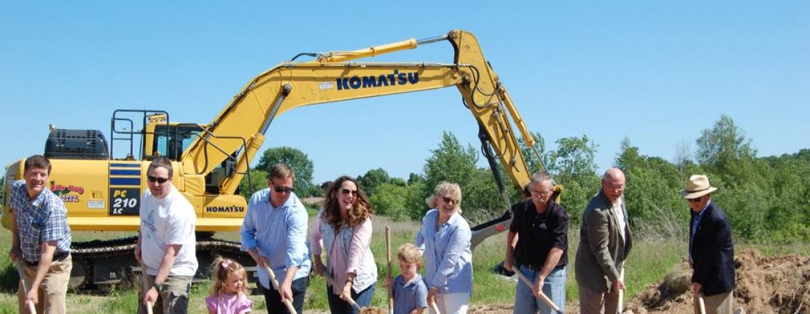 Tall Pines Estates Sturgeon Bay Ground Breaking