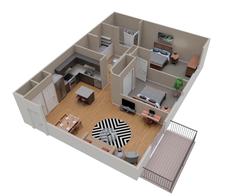 Spacious Two Bedroom Apartment Rental in Sturgeon Bay
