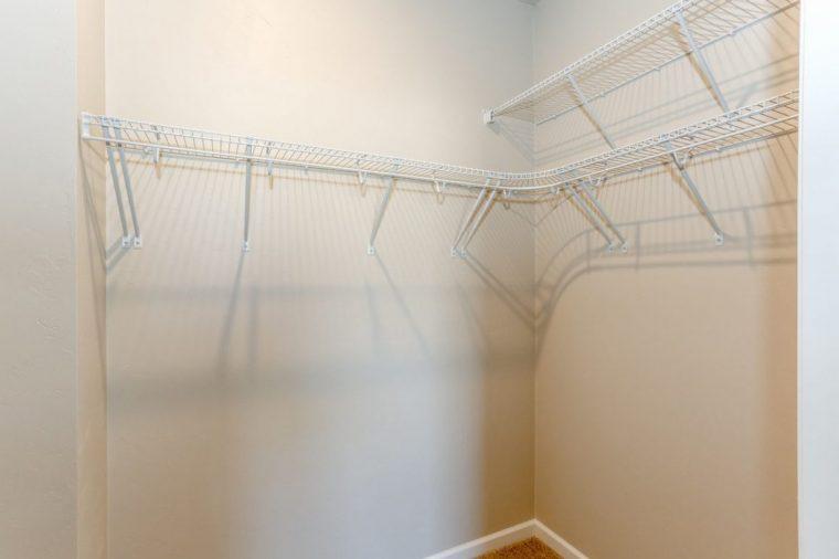 Unit A closet